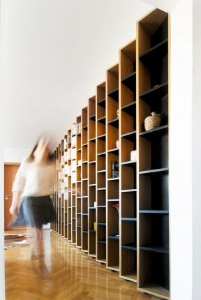 Library design - ateliercetrei - 2014, Timisoara