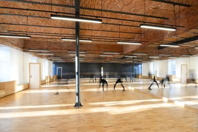 Choreography classroom@ SPATJ • Paul Mihai Moldovan, Anamaria Moldovan / ateliercetrei